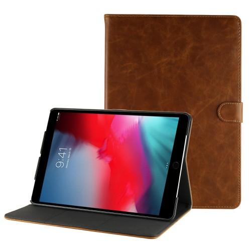iPad Air 3 10.5 (2019) / iPad Pro 10.5 (2017) leren hoes / case bruin