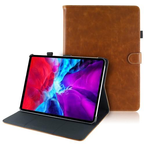 iPad Pro 12.9 (2020) leren hoes / case bruin