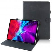 iPad Pro 12.9 (2020) leren hoes / case zwart