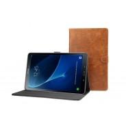 Samsung Galaxy Tab A 10.1 (2016) leren hoes / case bruin