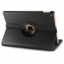 360 graden draaibare iPad 10.2 (2019) case met 2 standen zwart