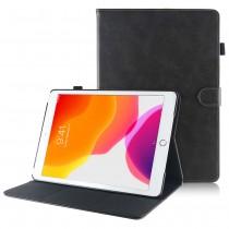 iPad 10.2 (2019 / 2020) leren hoes / case grijs