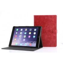 iPad 9.7 (2017) leren hoes / case rood