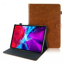 iPad Pro 11 (2020 / 2021) leren hoes / case bruin