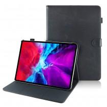 iPad Pro 11 (2020 / 2021) leren hoes / case zwart