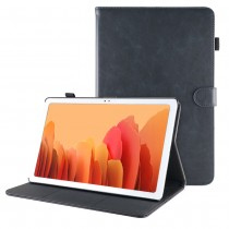 Samsung Galaxy Tab A7 10.4 (2020) leren hoes / case donkerblauw