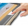 360 graden draaibare, rugged, iPad 9.7 (2017 & 2018) / Air 2 / Pro 9.7 case met screenprotector goud