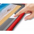 360 graden draaibare, rugged, iPad 9.7 (2017 & 2018) / Air 2 / Pro 9.7 case met screenprotector rood
