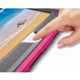 360 graden draaibare, rugged, iPad 9.7 (2017 & 2018) / Air 2 / Pro 9.7 case met screenprotector roze
